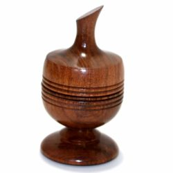 Ball Vase (Mesquite) by Richard Spencer