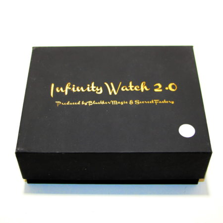Infinity Watch V2 (Gold Case, White Dial)