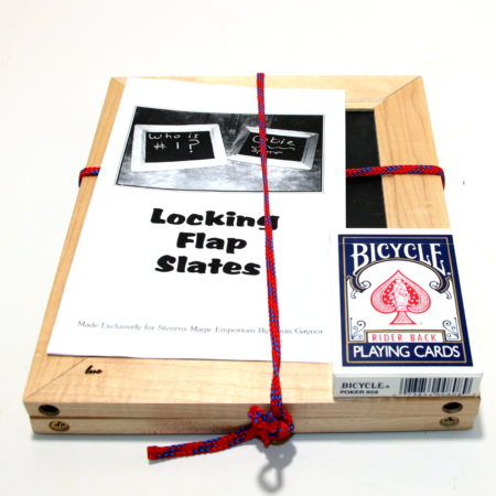 Locking Flap Slates (Non Magnetic) by Louis Gaynor