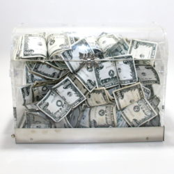 Crystal Money Chest by Owen Magic Supreme