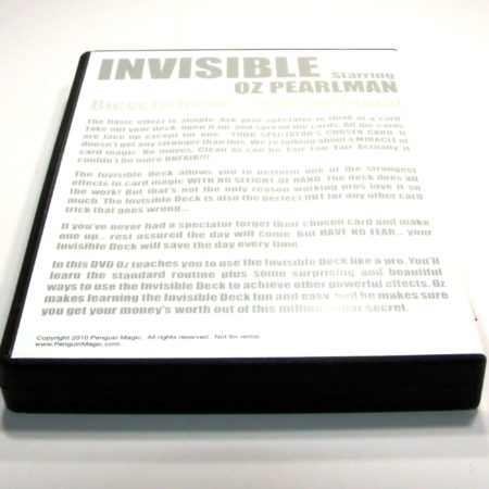Invisible by Penguin Magic