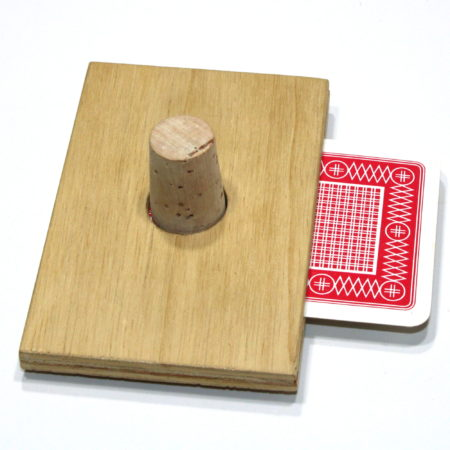 Cork Thru Card by Unknown