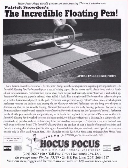 patrick-snowden-incredible-floating-pen-ad-magic-1998-08