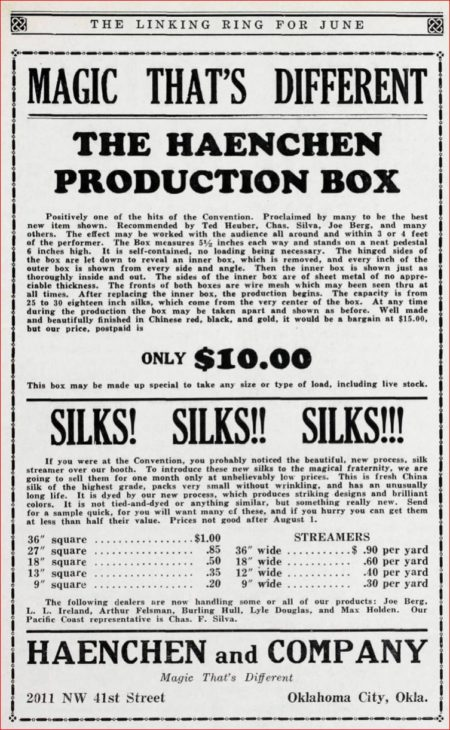 haenchen-production-box-ad-linking-ring-1935-06