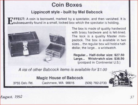 mel-babcock-coin-boxes-linking-ring-1992-08
