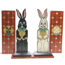 Custom Hippity Hop Rabbits by Rick Heath, B.C. Magic Mfg. Co.