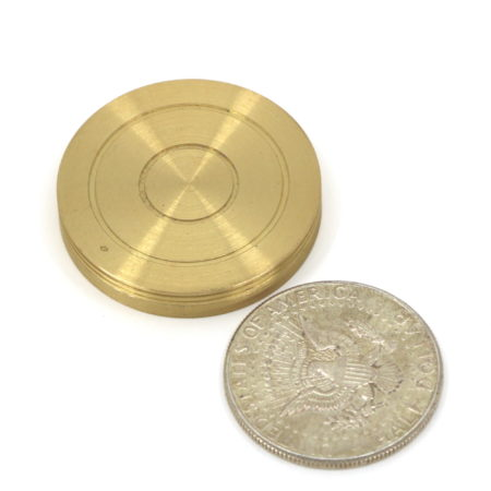 Classic Brass Coin Divination Casket by Airship Magic