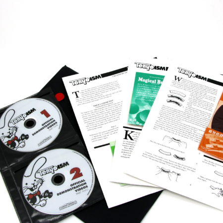 Tenyoism (Vols. 1 and 2, 4 DVDs, 3 tricks) by Richard Kaufman
